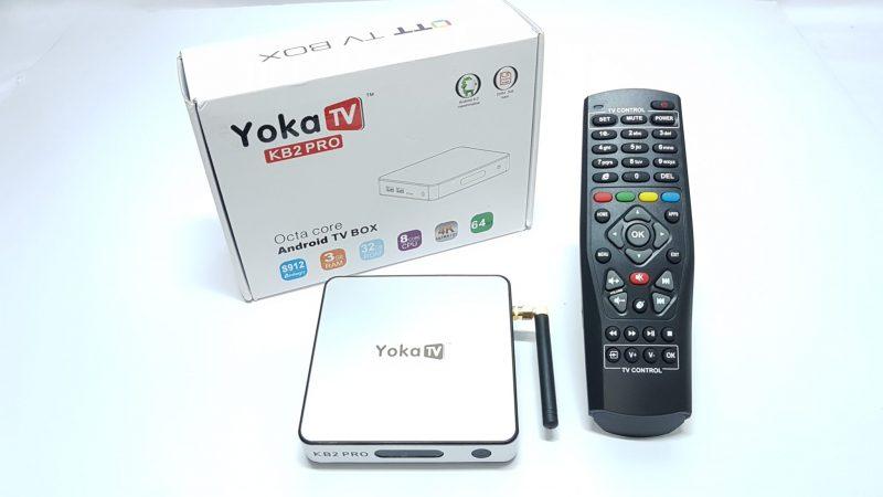 YokaTV KB2 Pro 3GB DDR4 Android 6.0 4k TV Box contents