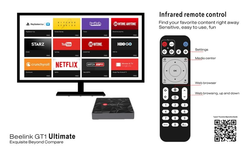 Beelink GT1 Ultimate remote