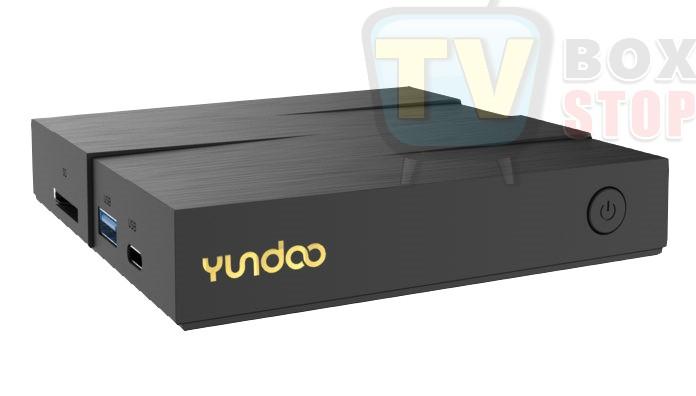 Yundoo Y8 TV Box Front view