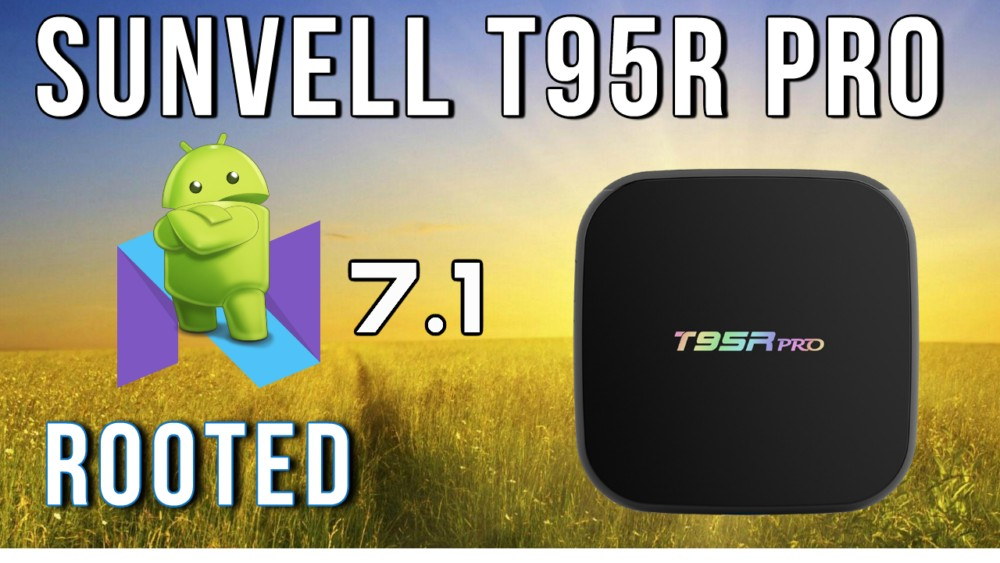 Sunvell T95R Pro 4K TV Box