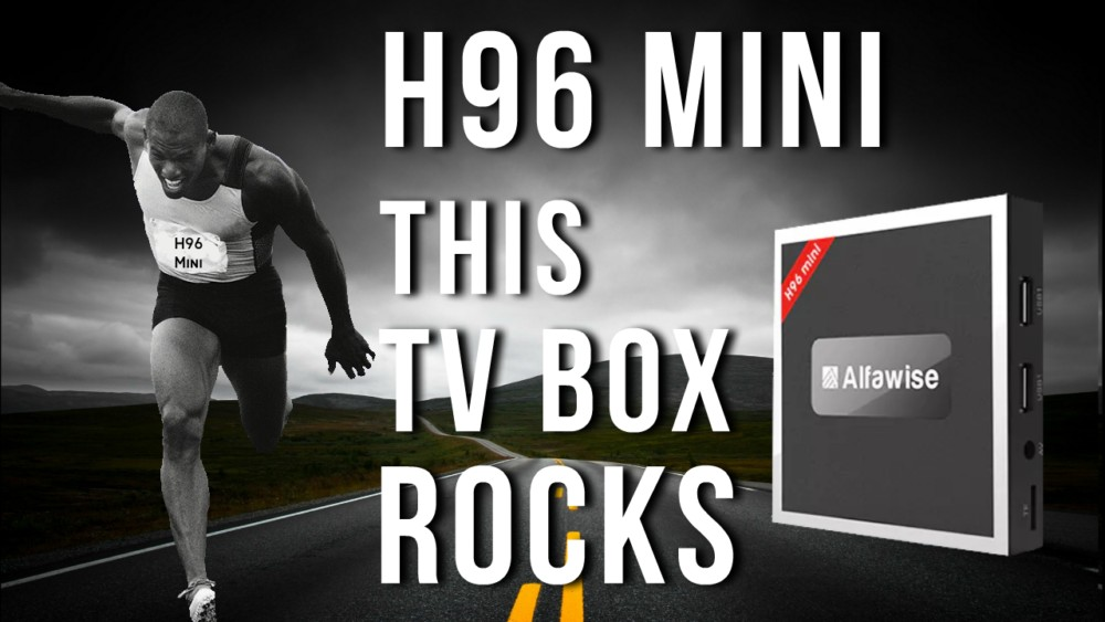 H96 Mini This TV box Rocks