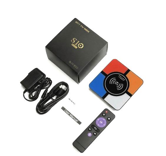 R-TV Box S10 TV Box in the box