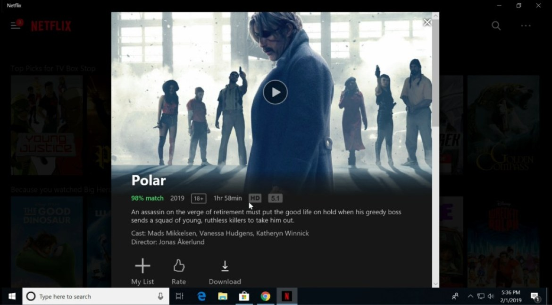 Kodlix_U500_Mini_PC_Netflix_Test