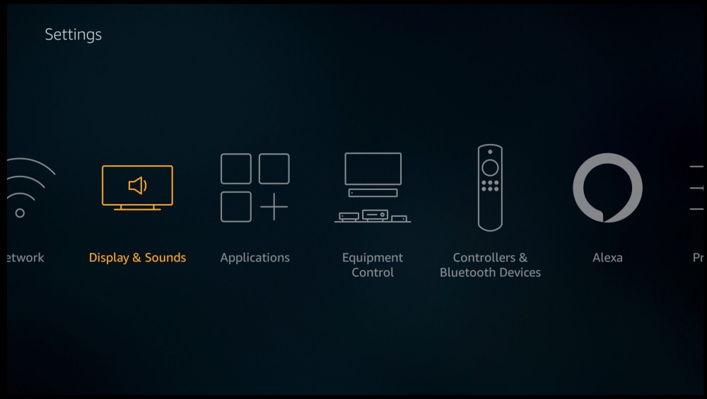 Amazon_fire_Cube_settings