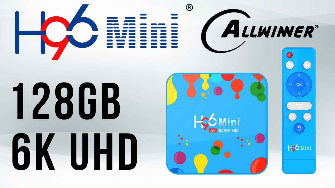 H96 Mini Allwinner H6 TV box