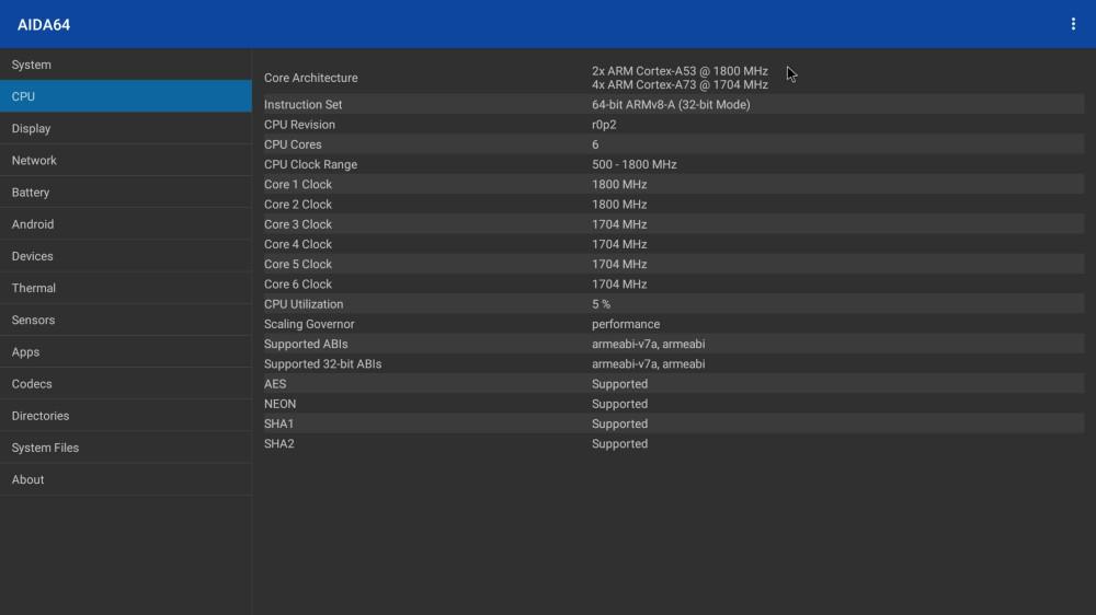 X99 Max S922X CPU info