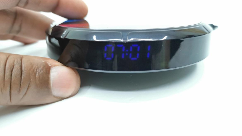 H96 Max X3 LED Clock Display