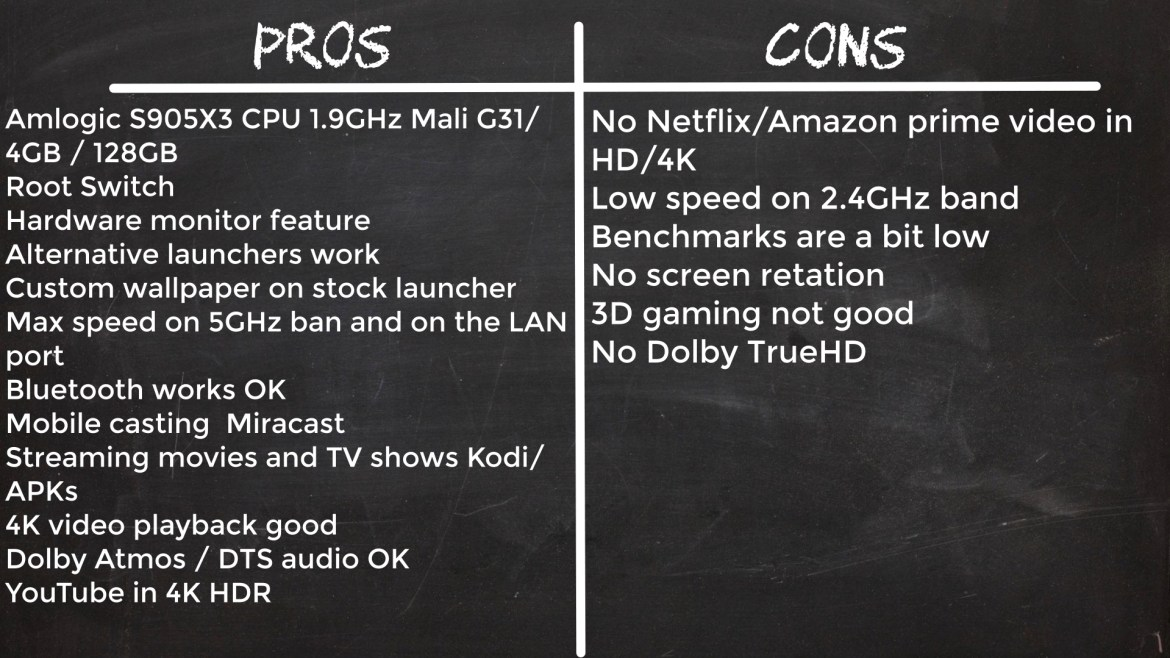 K10 TV Box Pros and Cons