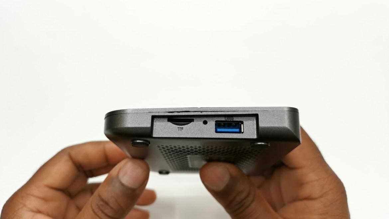 AX95 DB side ports
