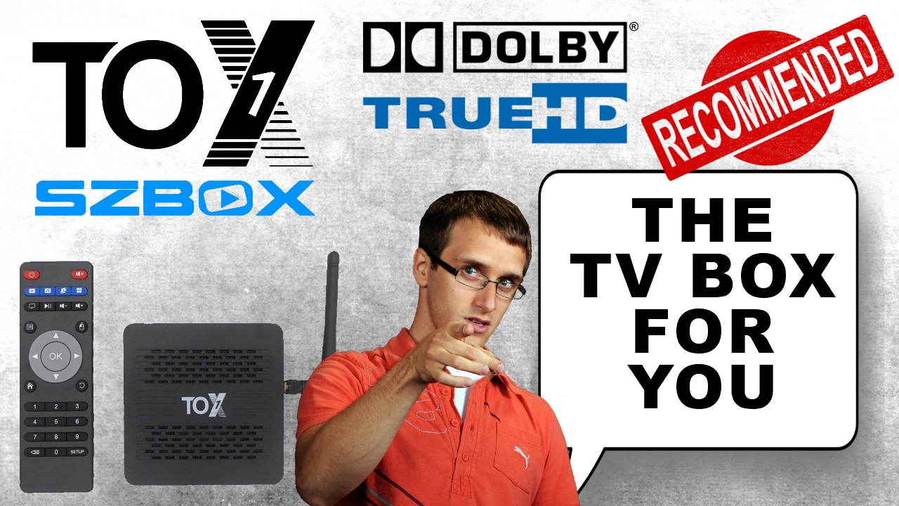 SZBOX TOX1 TV Box