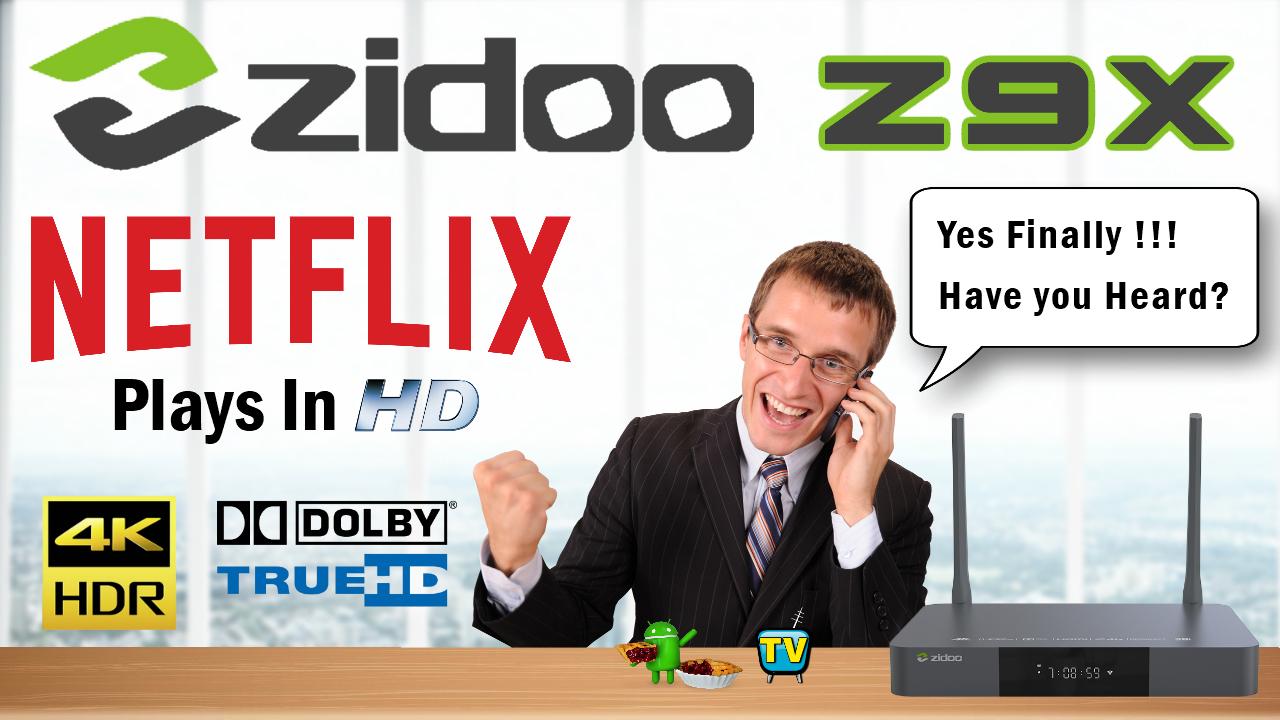 Zidoo Z9X TV Box
