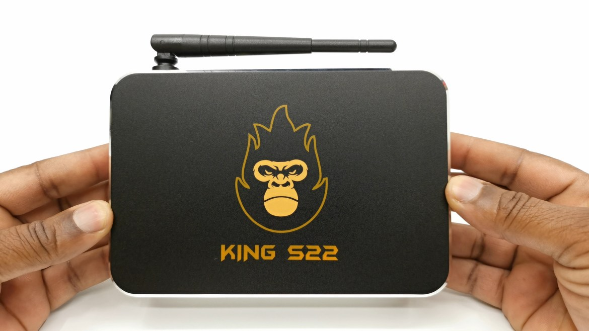 Zoomtak King S22 TV Box Top view