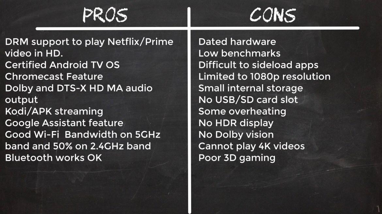 Xiaomi Mi TV stick Pros and Cons