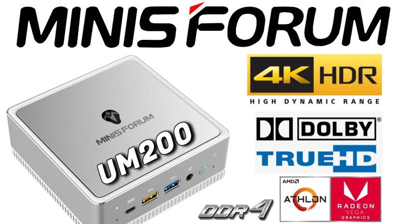 Minisforum UM200 Mini PC Review