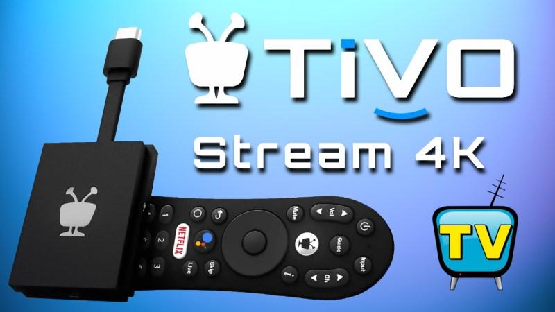 TiVo Stream 4K Android TV Box