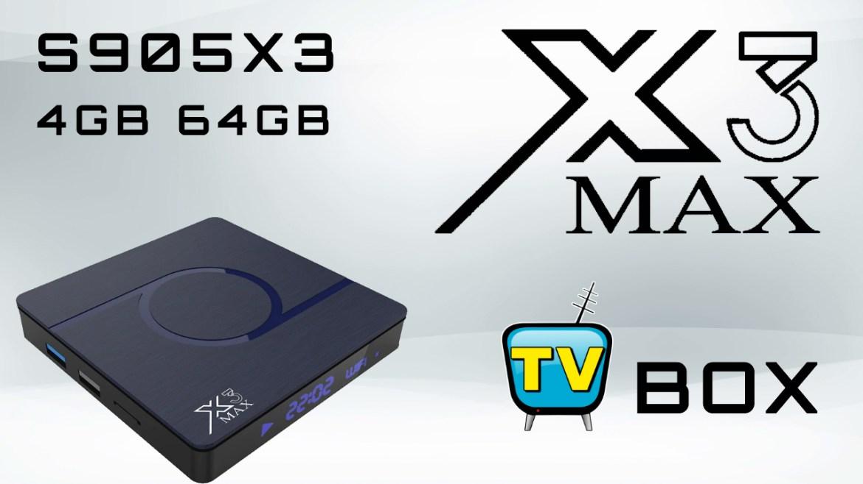 X3 Max TV Box