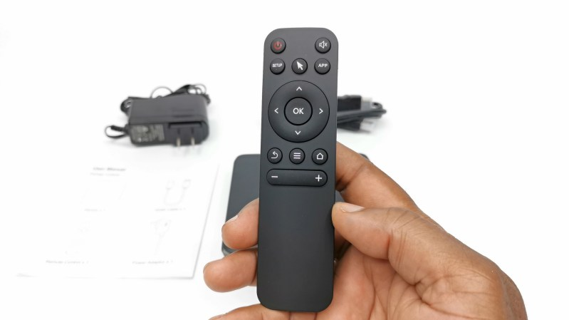 MXQ G10X3 IR remote