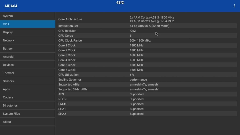 MXQ M12 CPU info