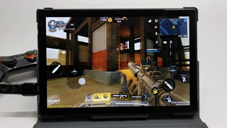 Vastking K10 Pro gaming with gamepad keymapping