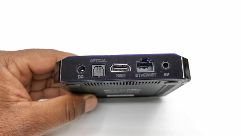 X96 Mini+ Rear IO ports