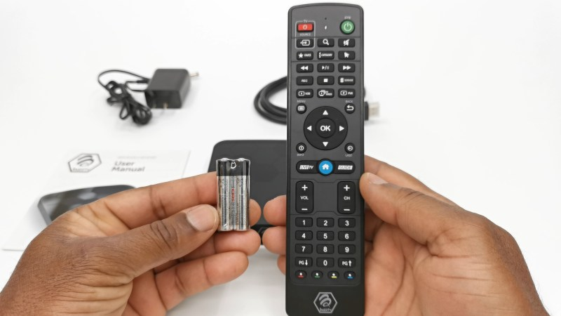 BuzzTV XR4500 Bluetooth remote