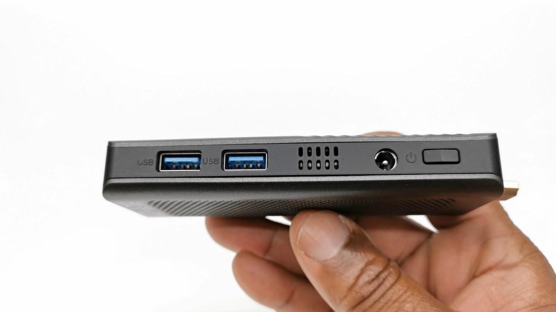 T6 Pro Mini PC Stick IO ports