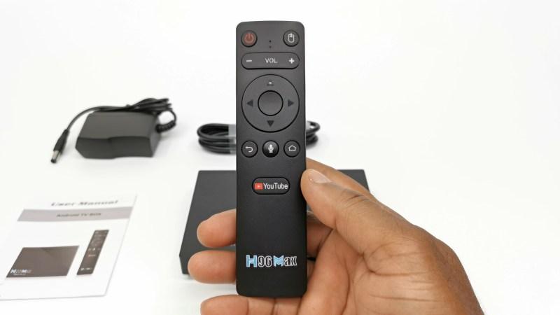 H96 Max RK3566 Bluetooth air mouse