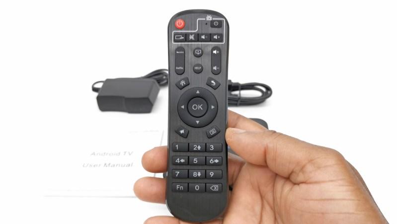 X88 Pro 20 IR remote