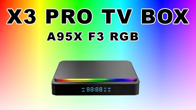 X3 Pro Amlogic S905X3 TV Box