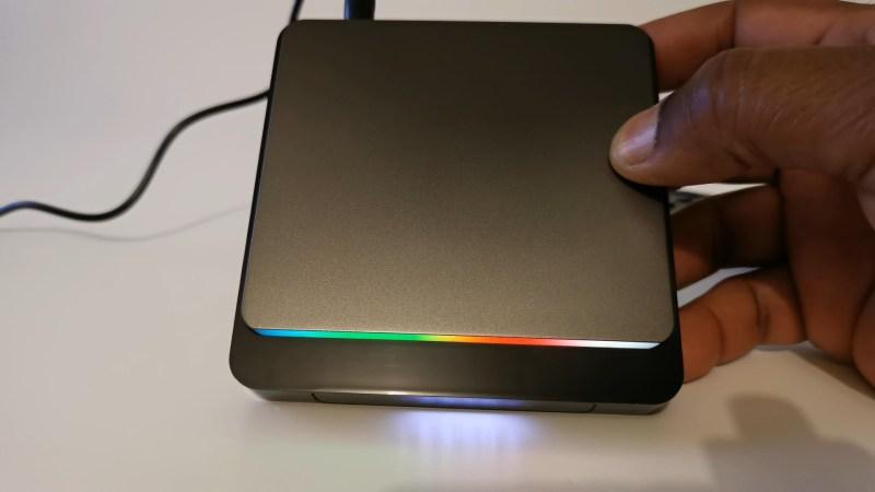 X3 Pro TV Box RGB lights