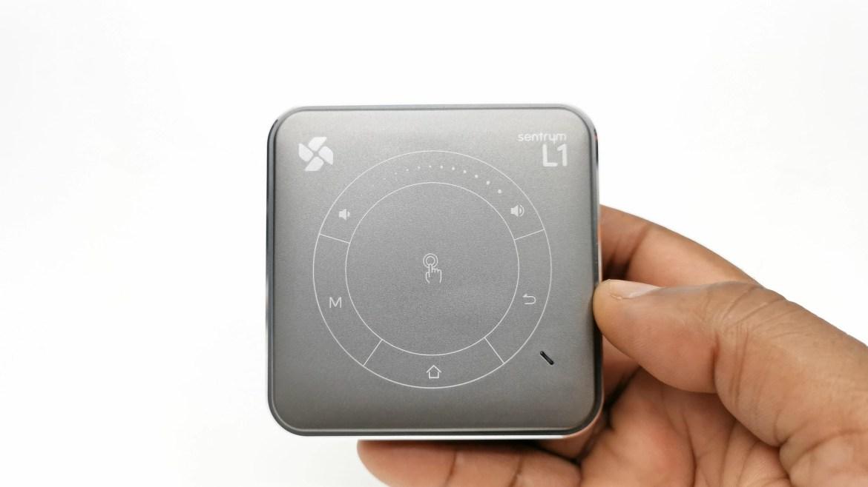 Sentryum L1 trackpad controls