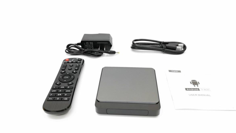X4 Pro TV Box IN the box