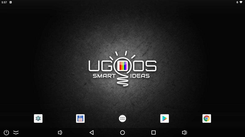 Ugoos AM7 launcher