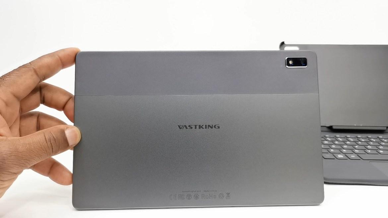 Vastking Kingpad M10 Tablet rear facing camera