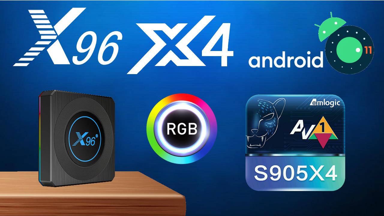 X96 X4 Amlogic S905X4 TV Box