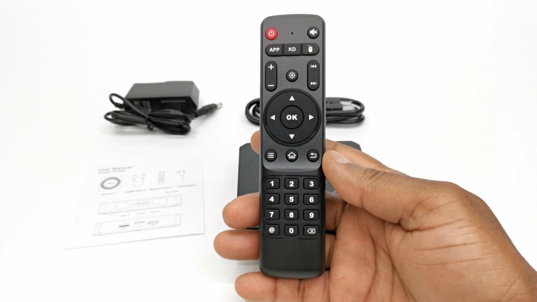 X96 X4 IR remote