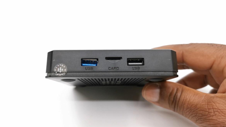 X96 X4 side IO ports