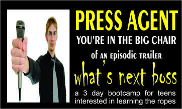 press agent 3 day camp