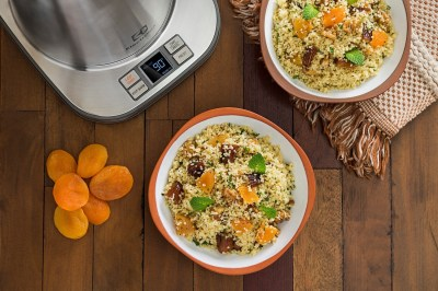 Couscous marroquino exótico da chef Cinthya Maggi