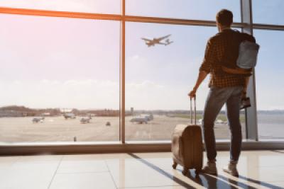 Tv Catia Fonseca Dicas para evitar roubos em aeroportos Marisa Gordon Homem em aeroporto