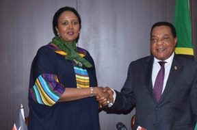 Ambassador-Amina-Mohamed-with-her-Tanzanian-counterpart-tvcnews