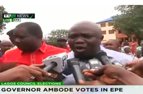 Ambode votes-TVC