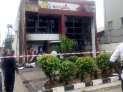 Burnt-Sterling-Bank-building-in-Apapa-TVC