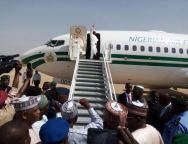 President-Buhari-leaves-Daura-for-Abuja-TVC