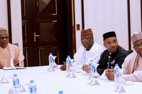 Buhari-governors -TVC