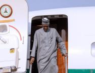 Buhari returns -Turkey -TVC