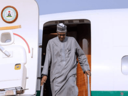 Buhari returns -Turkey -TVC