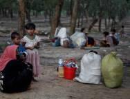 Rohingya-Children