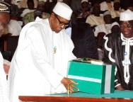 President Buhari -Budget