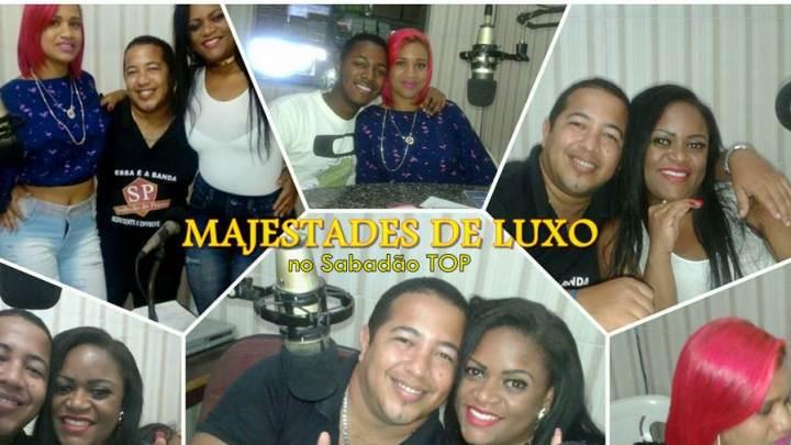 Banda Majestades de Luxo concede entrevista na Rádio RCA FM em Conceição da Feira